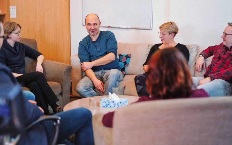 Praxis-Impressionen Gruppen-Gespräch